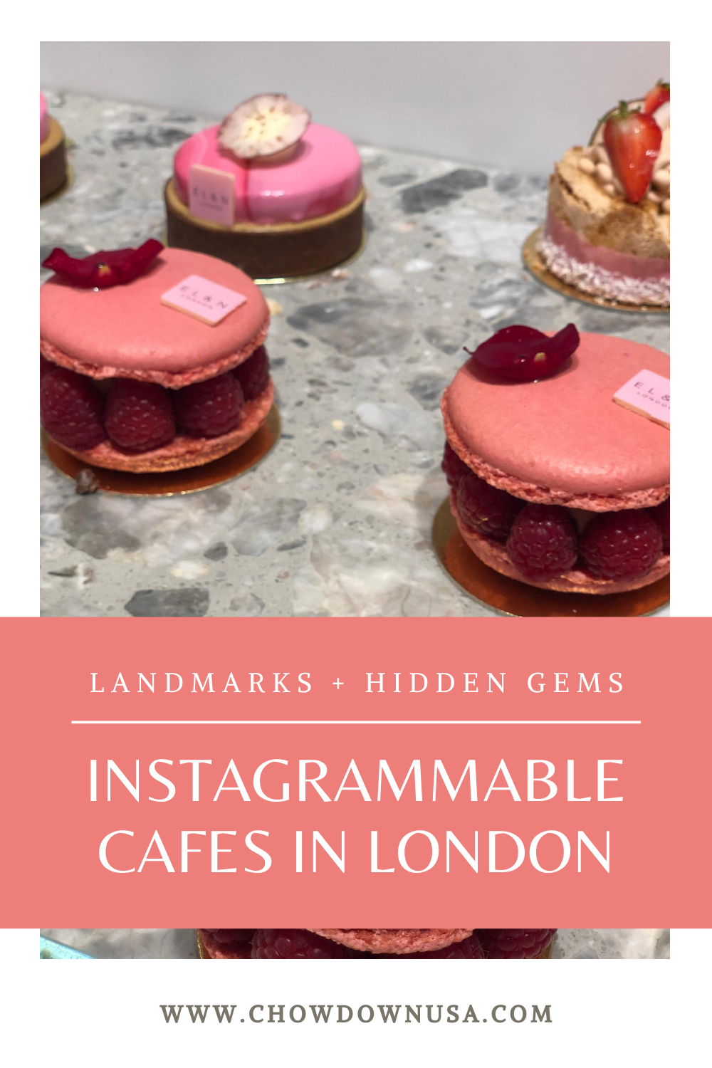 instagrammable cafes in London elan cafe